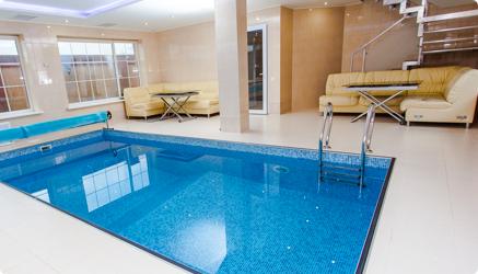 UMA Solar solutions indoor pool heating