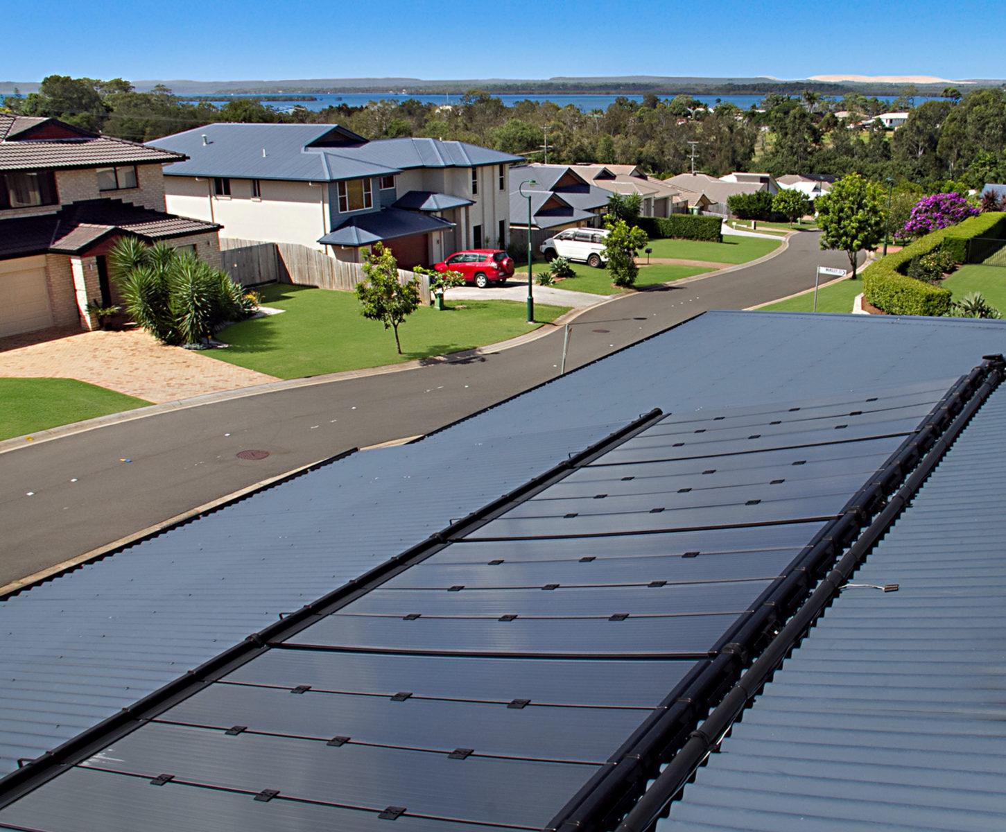 UMA solar pool heating eco-spark gallery image 1