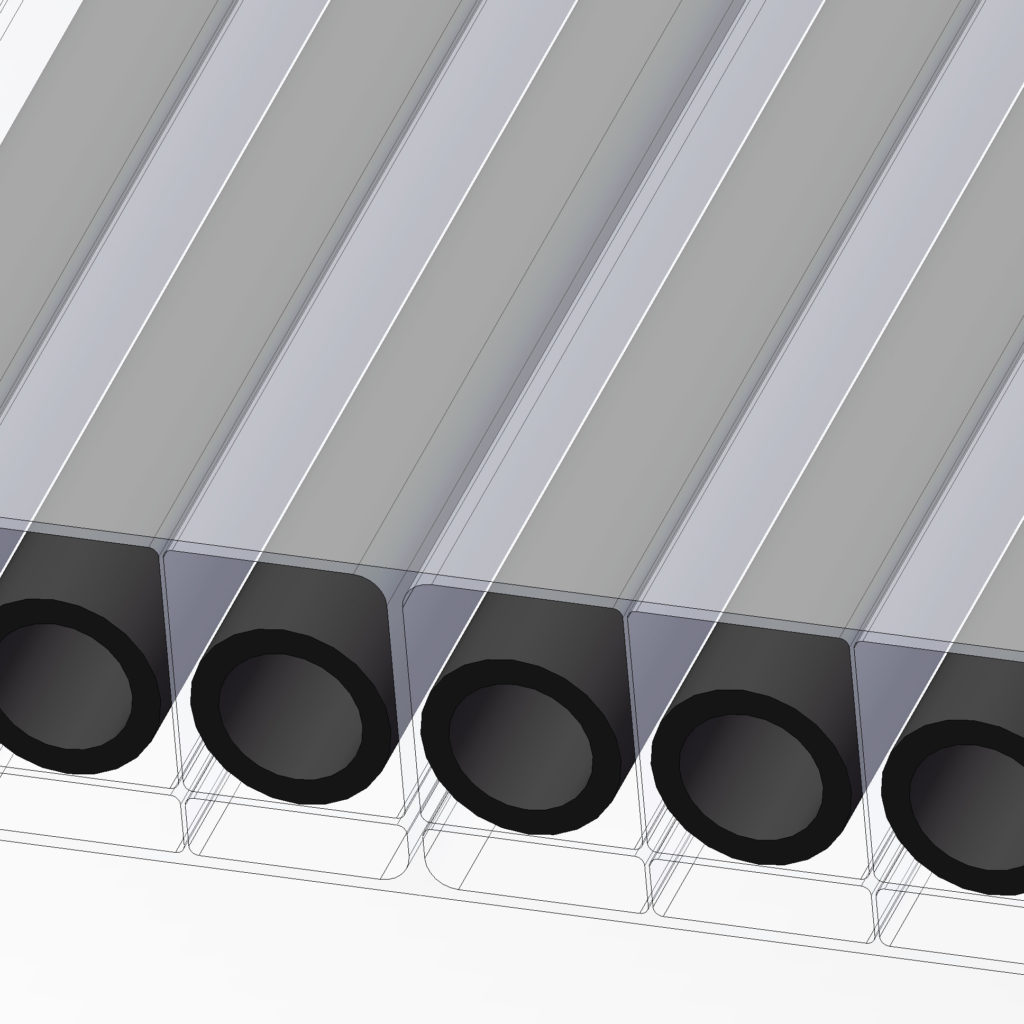 UMA solar pool heating eco-spark multiwall glazing