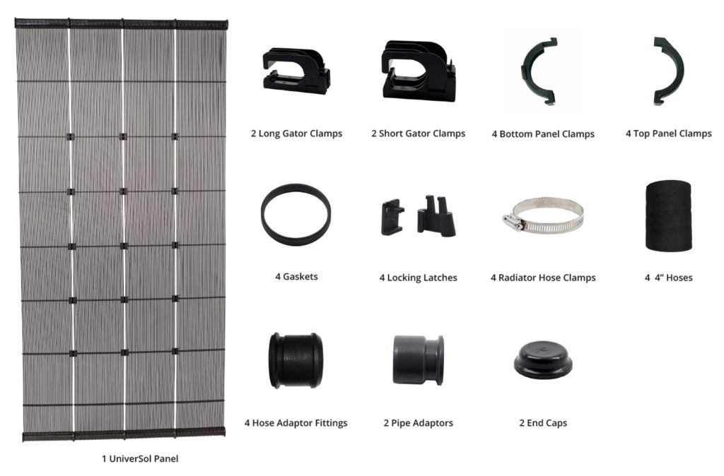 UniverSol Panel and parts