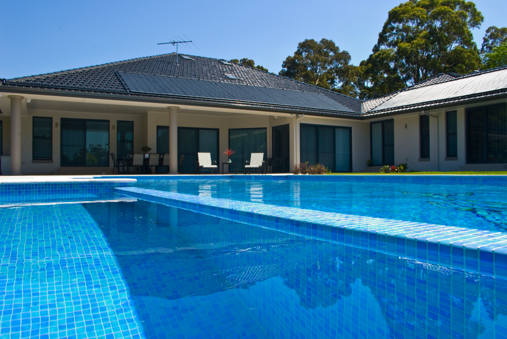 solar pool heating panels