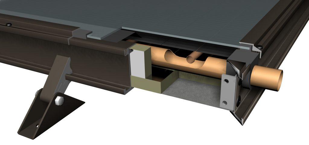 Solene corner cutaway