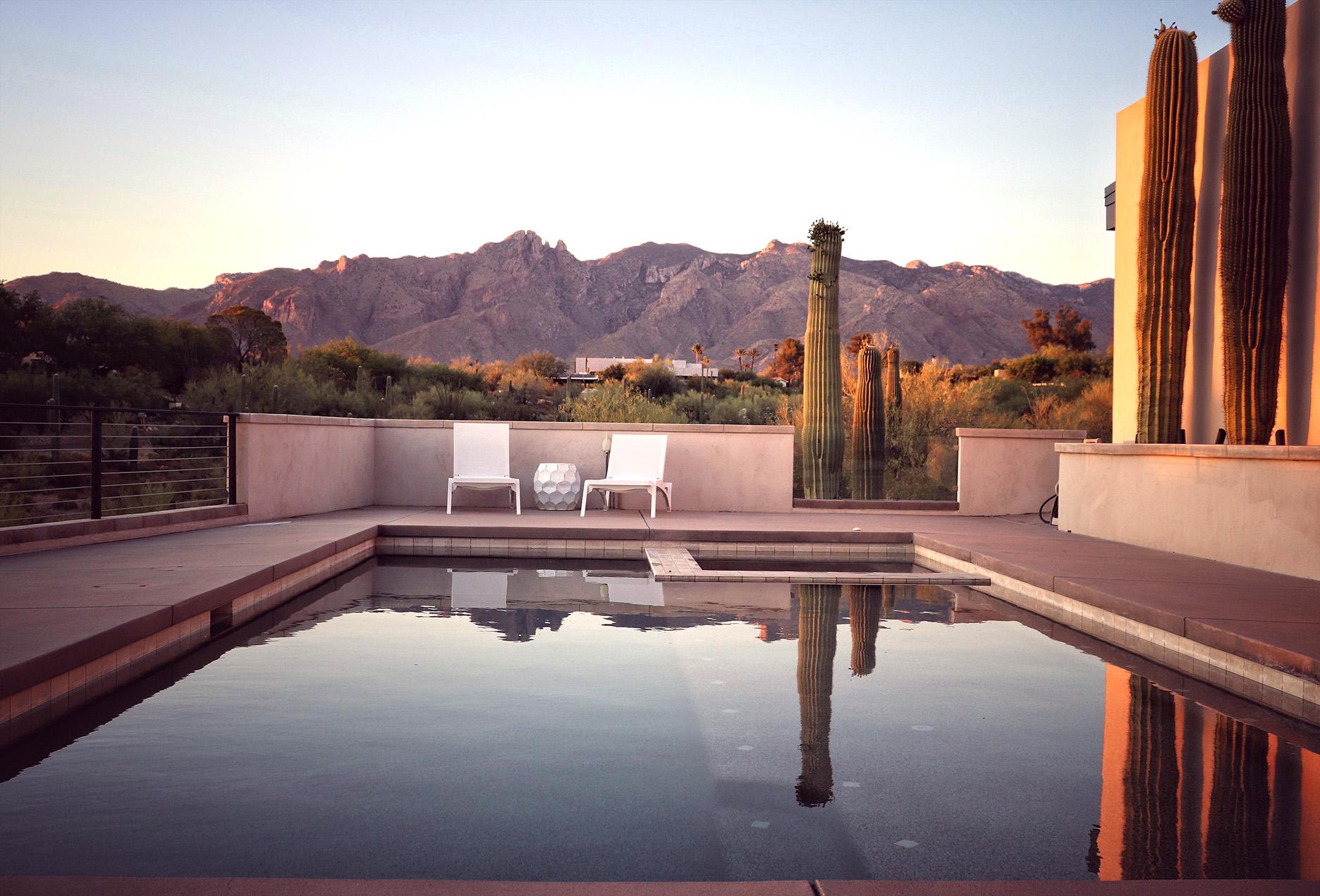 Pool of Arizona Home